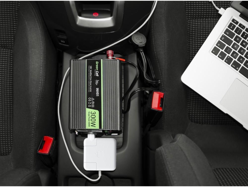 Przetwornica samochodowa do laptopa